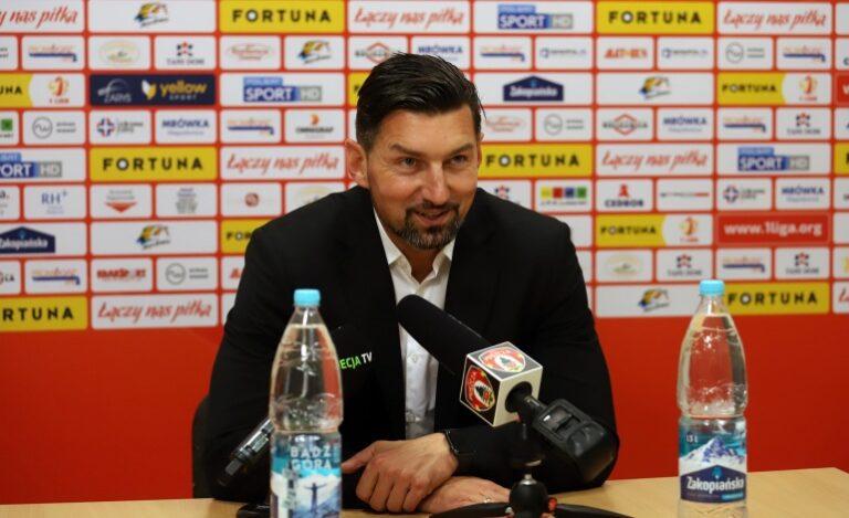 Sandecja na fali, trener… odejdzie do Ekstraklasy?