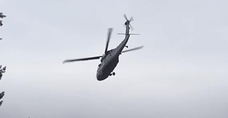 MON niewiele mówi o awaryjnym lądowaniu Black Hawk. Tauron szacuje straty w dziesiątkach tysięcy