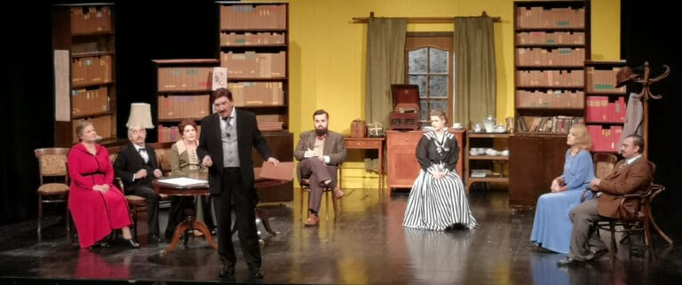 """Teatr to czyste szaleństwo! Spektakl ,,Bolek i Żabusia"""" uświetnił jubileusz Teatru Robotniczego imienia B. Barbackiego"""