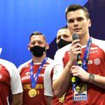 Jakub Olszewski i złota drużyna U 19