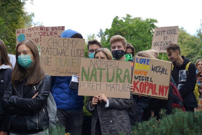 Sądecki Młodzieżowy Strajk Klimatyczny znów zaprotestuje