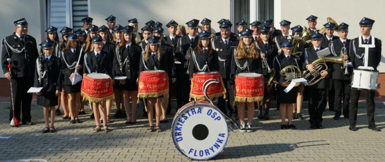 Strażacka orkiestra z Florynki gra już od 45 lat