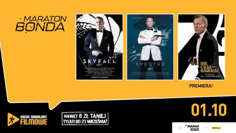 Kino HELIOS zaprasza na MARATON BONDA! Łap bilety!