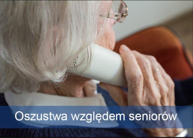 Oszustwa względem seniorów