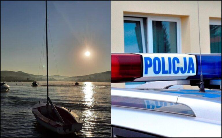 Ciało 76-letniego wędkarza odnaleziono w Jeziorze Rożnowskim