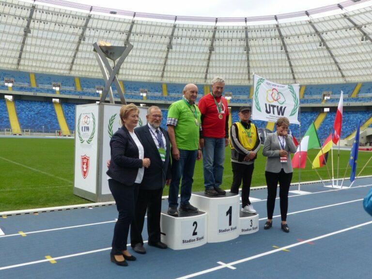 Złoto i brąz dla sądeckich seniorów na sportowej olimpiadzie