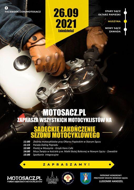 Sądeckie zakończenie sezonu motocyklowego