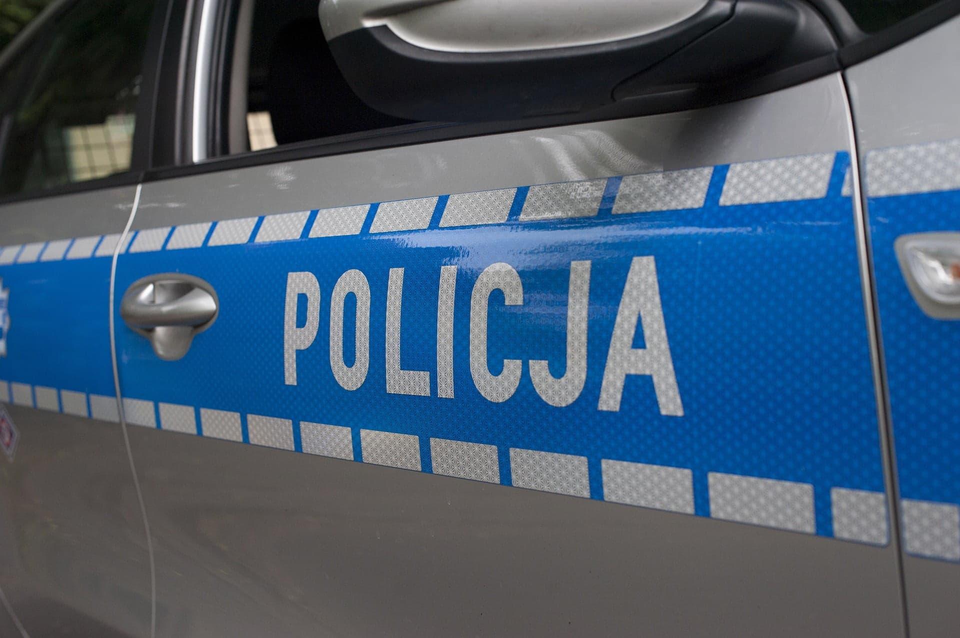 Policyjny samochód