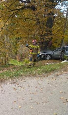 wypadek Brzana koło Bobowej