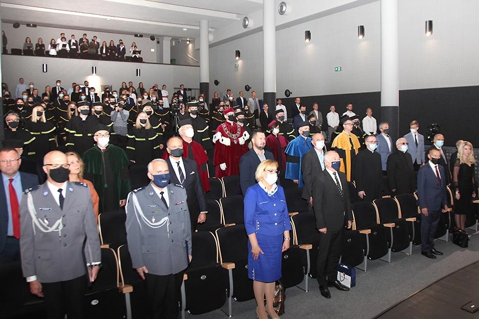inauguracja roku akademickiego w PWSZ, Nowy Sącz