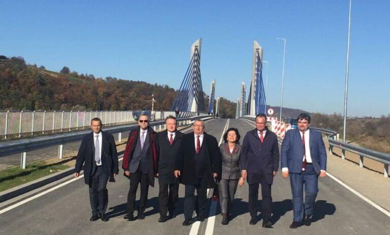 Most w Kurowie oficjalnie otwarty
