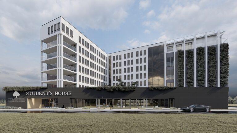 Nowa inwestycja WSB-NLU. Powstaje kompleks, który zaspokoi wszystkie potrzeby studentów