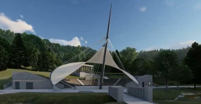 Krynica Zdrój dostanie prawie 10 milionów na metamorfozę Góry Parkowej i budowę amfiteatru