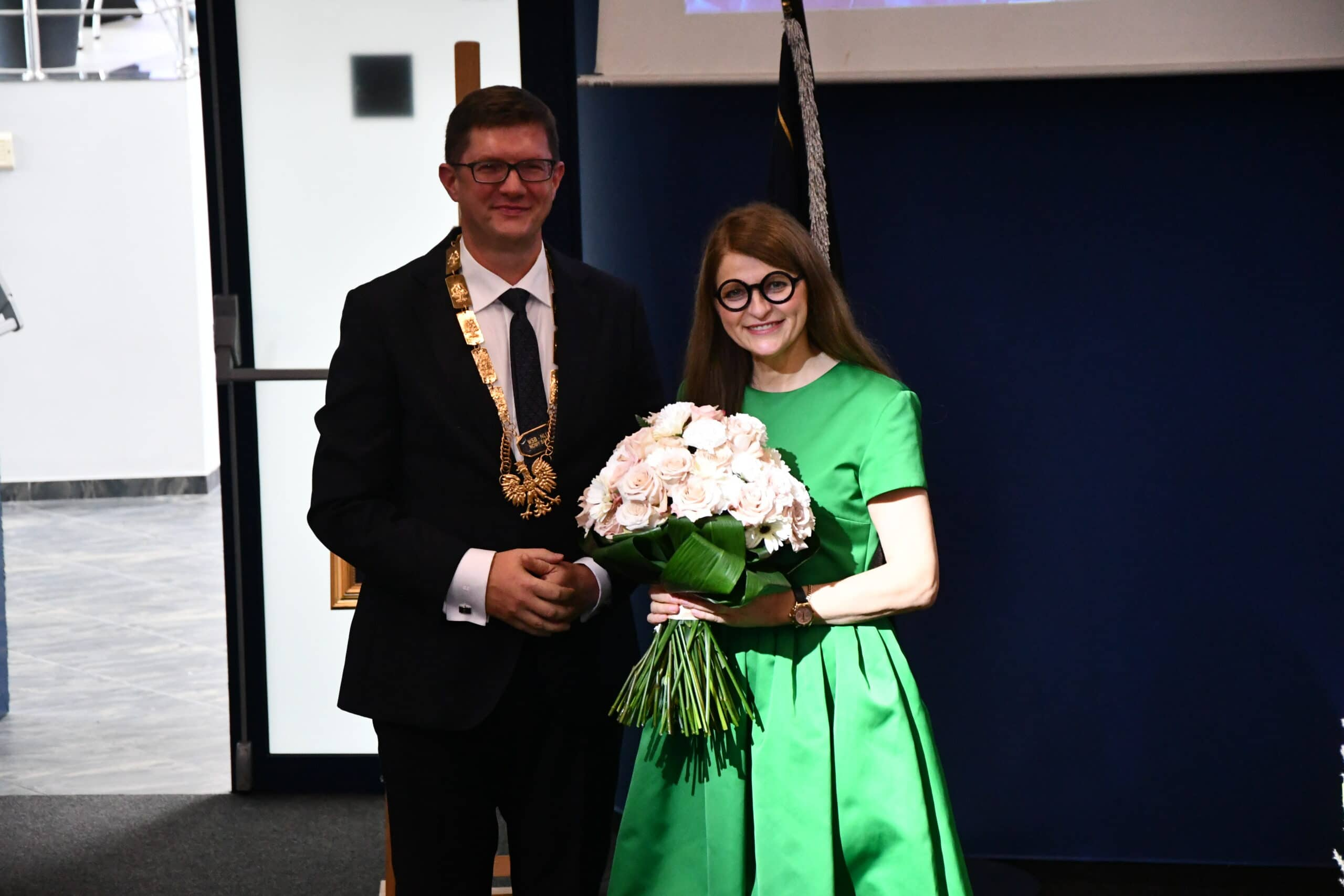 rektor dr Dariusz Woźniak, WSB-NLU Nowy Sącz